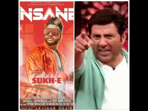 Sunny Deol React on Insane Song by  Sukh-e 