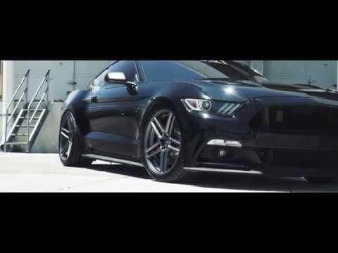 Supercharged Ford Mustang Gt Velgen Wheels Split5 20