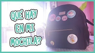 (TAG) Qué hay en mi mochila? lol