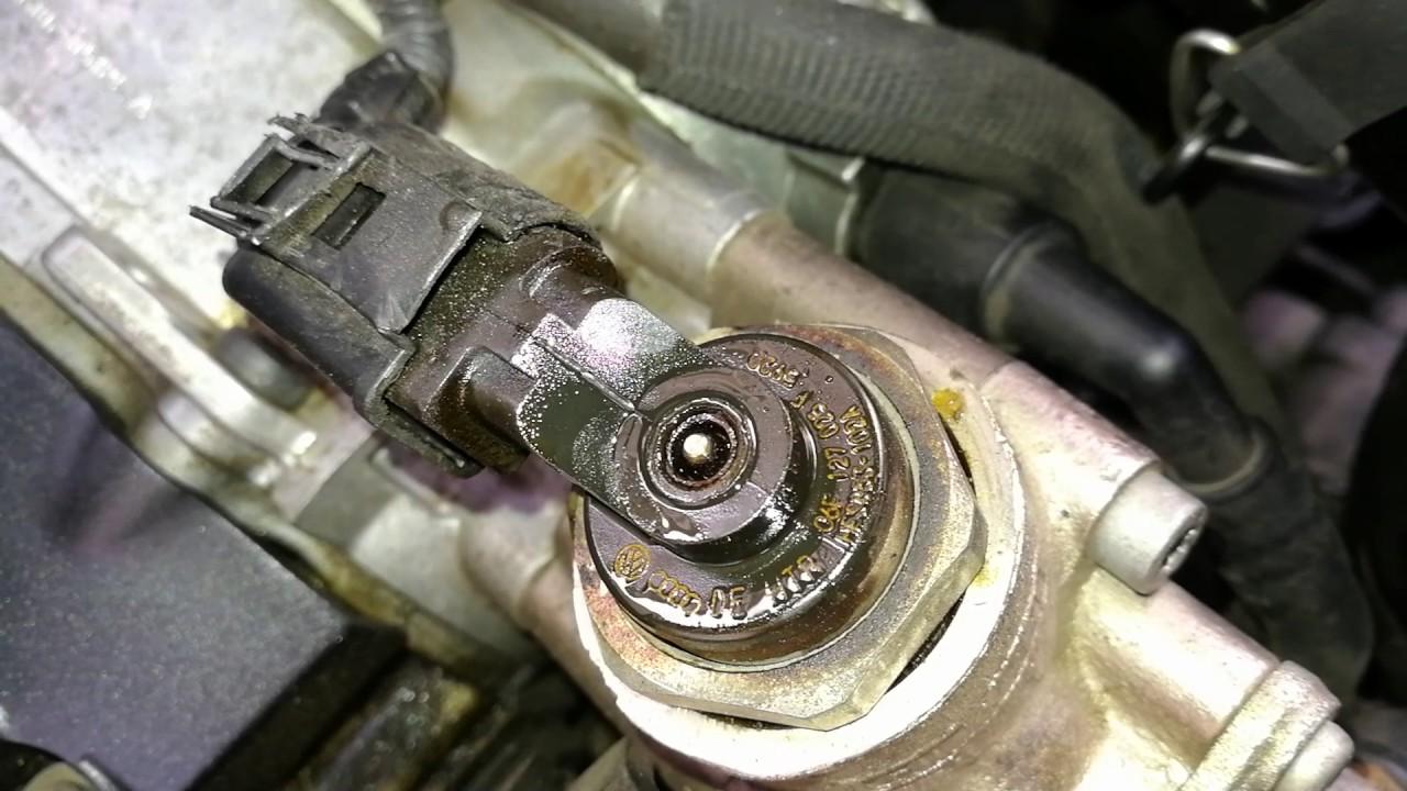 Vw golf mk5, high pressure fuel pump problem  YouTube