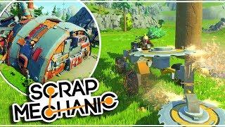 RECOLTE DE RESSOURCES & PNJ - Le futur de Scrap Mechanic 07/18 FR