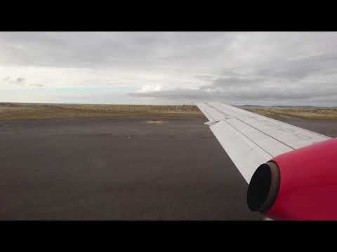 Logan air flight Benbecula take off 9/4/18