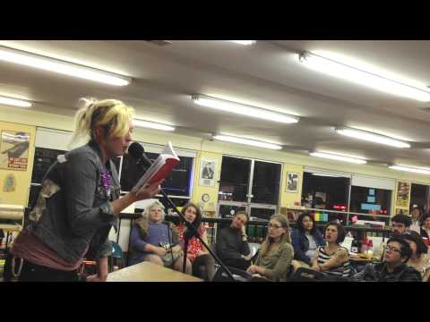 "Imogen Binnie reading from ""Nevada"" at Pegasus Books - Part 3 of 3"