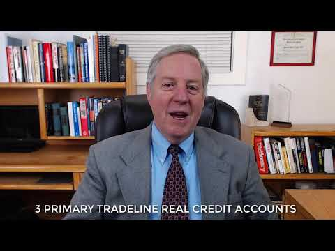 3 PRIMARY TRADELINE REAL CREDIT ACCOUNTS - YouTube