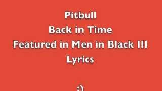 Back in Time - Pitbull - Lyrics