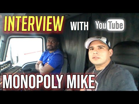 Interview With Monopoly Mike. Hauling Frac Sand In West Texas