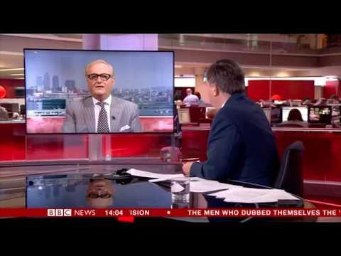 Watch John Longworth talk about the UK's economy on BBC News