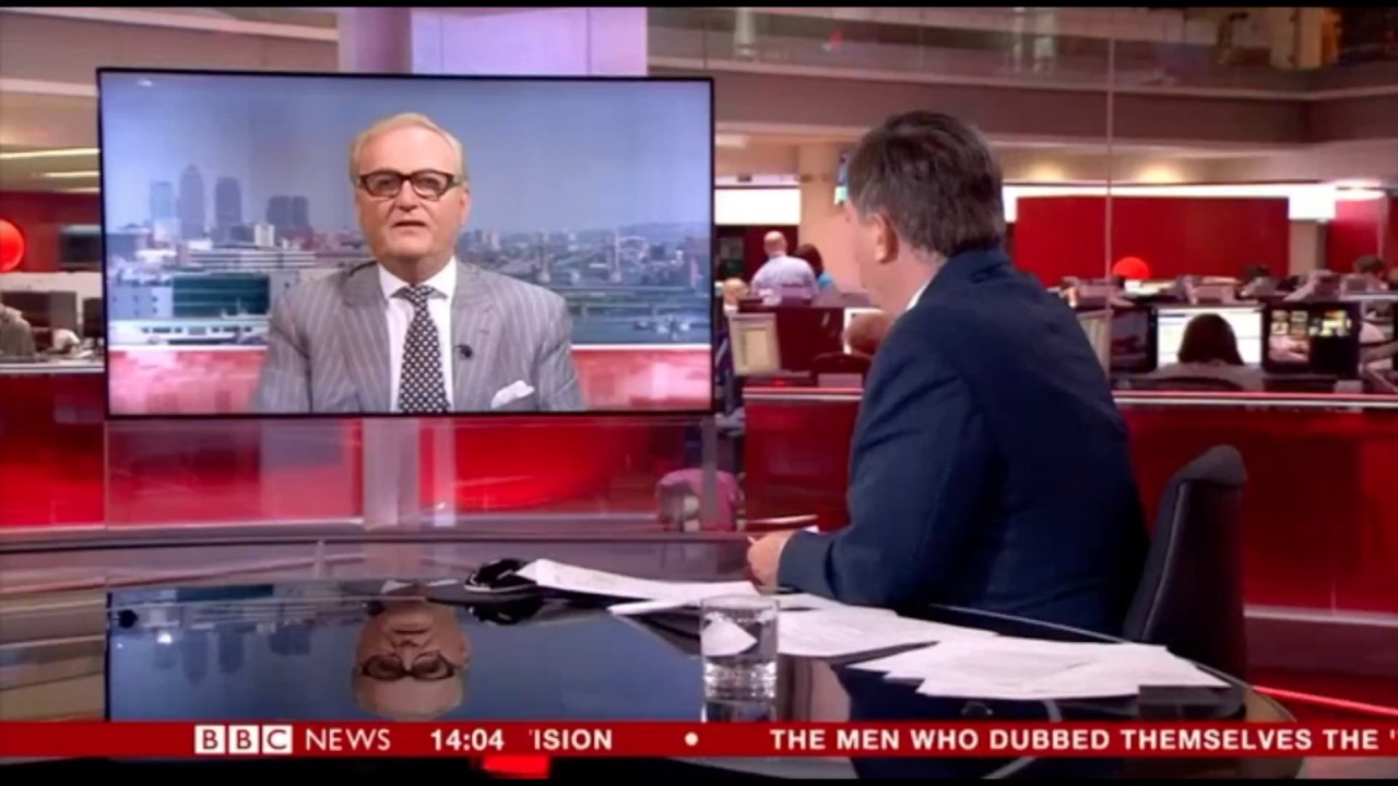 Watch John Longworth talk about the UK's economy on BBC News