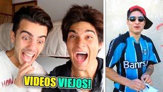 REACCIONANDO A NUESTROS VIDEOS VIEJOS! thumbnail