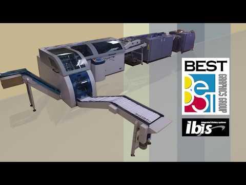Best Graphics Group - Ibis Smart-Binder Series Digital Print Variable Saddle Stitch/Cold Glue Binder
