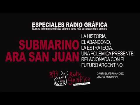 ESPECIALES RADIO GRÁFICA l SUBMARINO ARA SAN JUAN