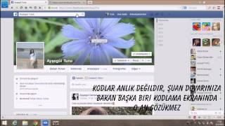 Facebook Profilime Kimler Bakmış?
