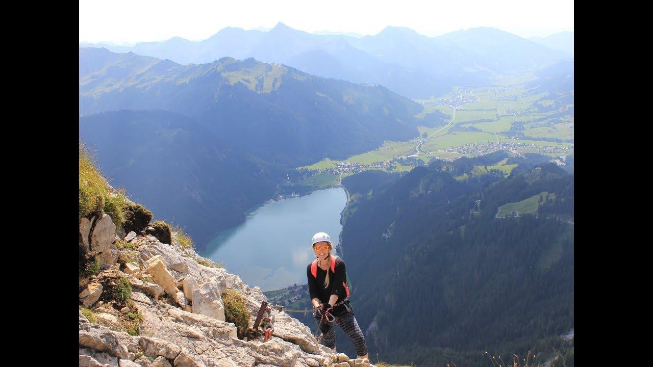 Klettersteig Tannheimer Tal : Bestes bergpanorama am friedberger klettersteig im tannheimer tal