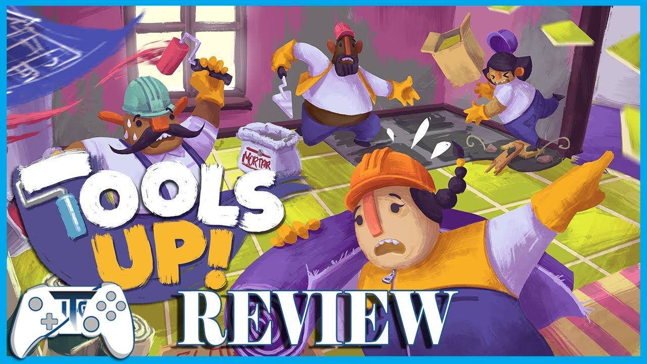 Tools Up Review (Video Game Video Review)