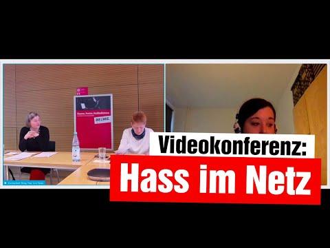 Videokonferenz: Hass im Netz (mit Petra Pau, Konstantin von Notz und Karolin Schwarz)