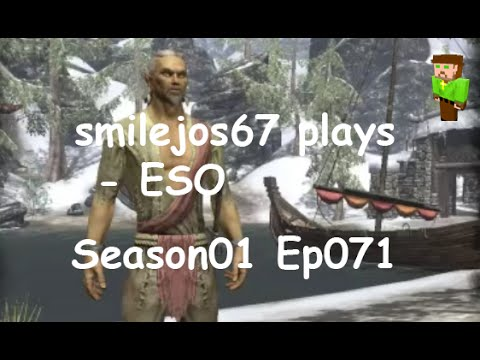 smilejos67 plays - ESO Season01 EP071, A Sorrel horse