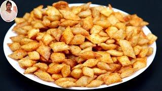 1 கப் ரவை உப்பு மிளகாய்த்தூள் இருந்தா இப்பவே இந்த ஸ்னாக் செஞ்சி பாருங்க | Snacks Recipes in Tamil