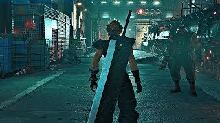 FINAL FANTASY VII Remake - First 45 Minutes Gameplay 4K HDR (PS4 Pro)