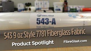 543 9 oz Style 7781 Fiberglass Fabric