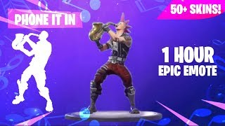 FORTNITE PHONE IT IN (1 HOUR) (50 skinS) (Téléchargement musical inclus) (Saxophone)