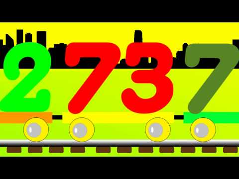 Learn Number Train - Easy to Learn Numbers 71 to 80
