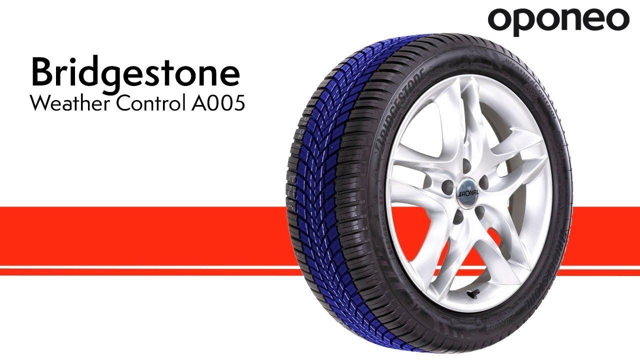 Opona Bridgestone Weather Control A005 Opony Całoroczne Oponeo