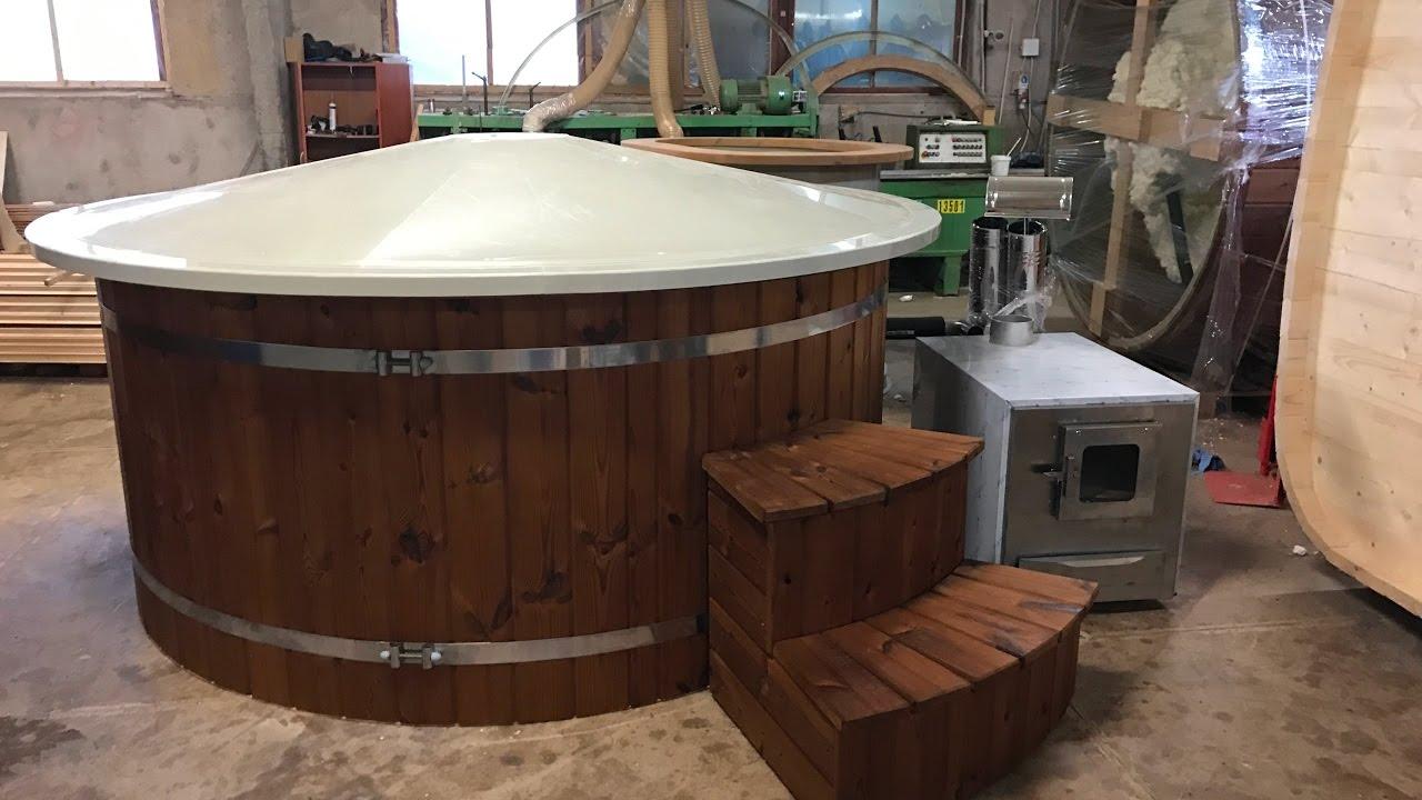 Badezuber | Bain nordique | Plastikinis kubilas | Hot tub team | SPA ...