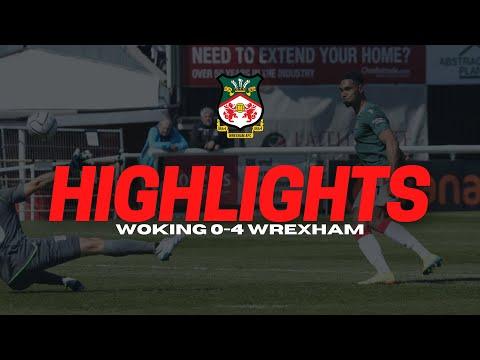 Woking Wrexham Goals And Highlights