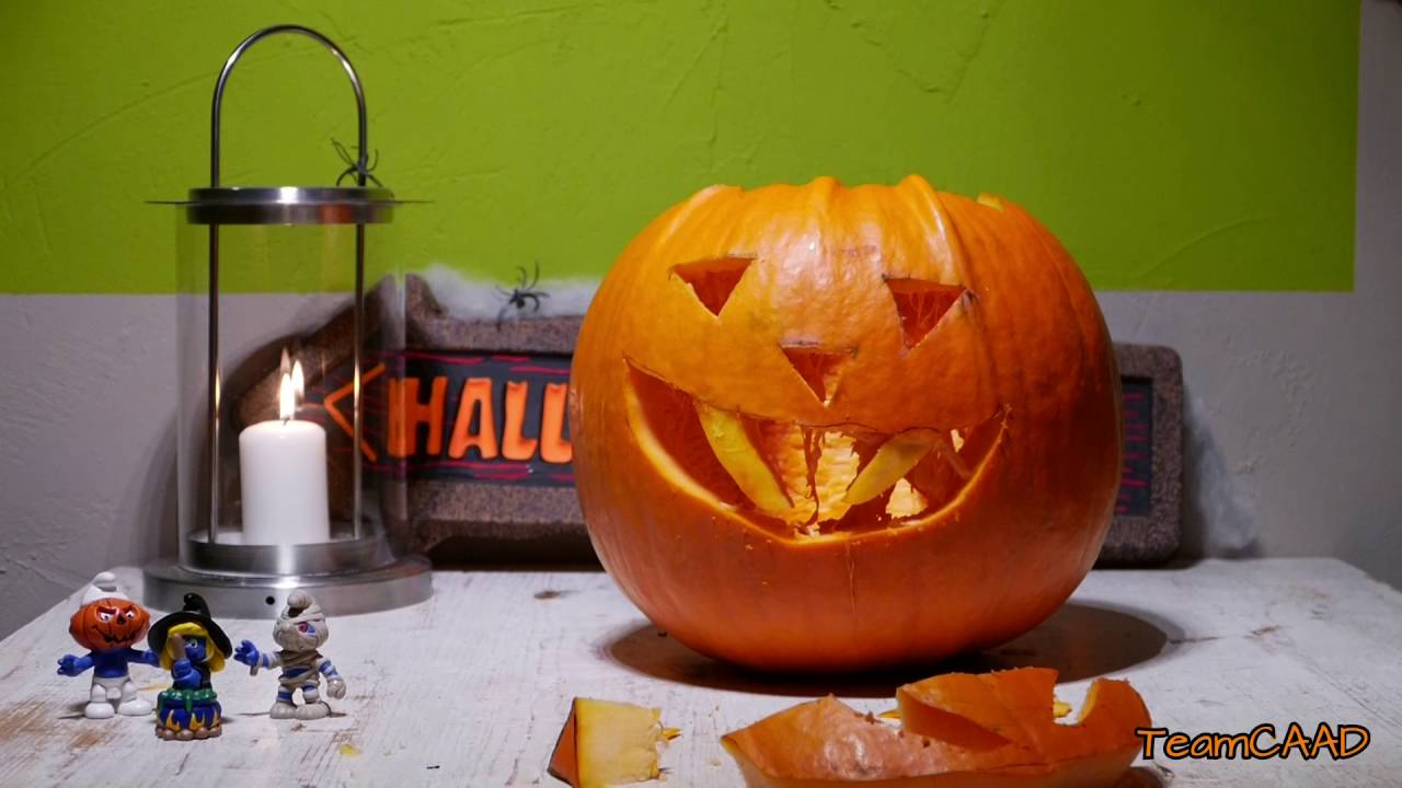 how to carve a vampire halloween pumpkin diy youtube