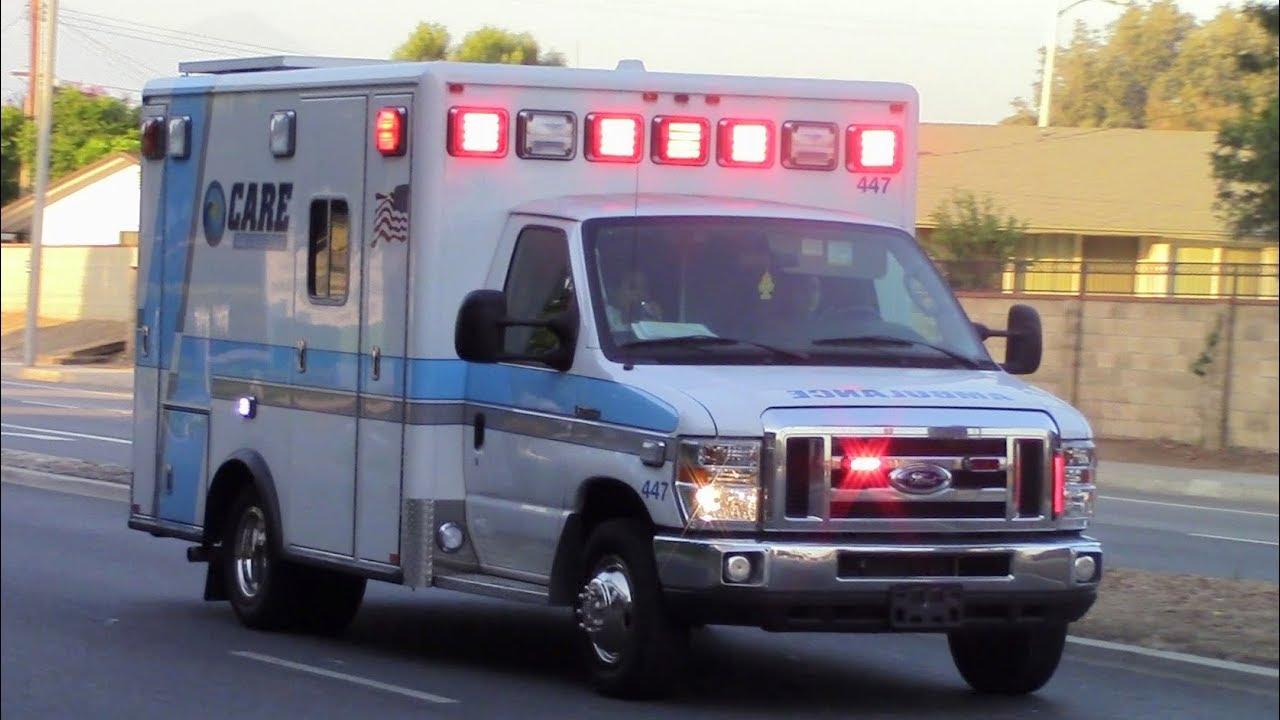 New CARE Ambulances Responding x3 - YouTube