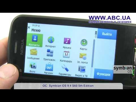 Обзор смартфона Nokia C6