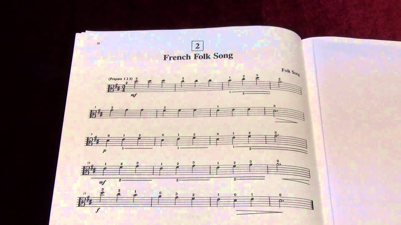 French Folk Song Violin Suzuki