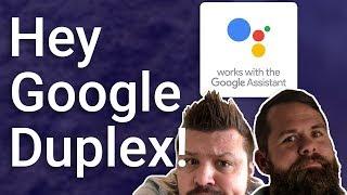 Testing Google Duplex LIVE! 😬