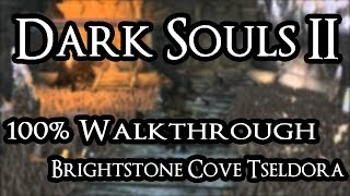 Dark Souls 2 100% Walkthrough #18 Brightstone Cove Tseldora (All Items & Secrets)