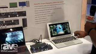 InfoComm 2016: KanexPro Shows Off Three-Input DisplayPort, HDMI & VGA Switcher