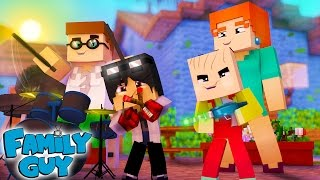 minecraft who s your family uma famlia da pesada family guy
