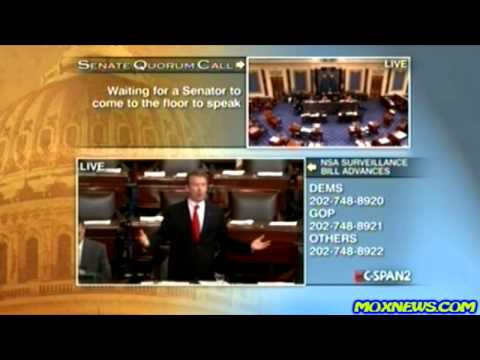 "Americans Call C-SPAN ""In Droves"" To Support Rand Paul's Stand Against NSA Spying On Americans!"