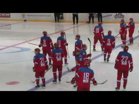 Матч в рамках турнира 4-х наций Россия-Чехия
