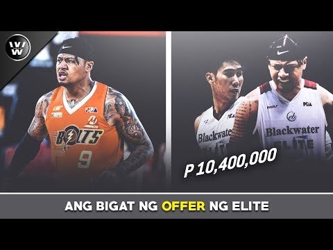 Matindi ang Bagong Offer ng Blackwater kay Ray Parks | 10.4 Million