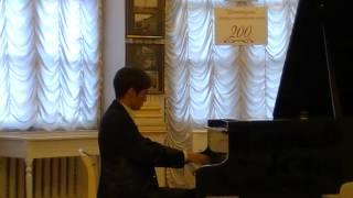 "J.Strauss - G.Cziffra. Waltz ""On The Beautiful Blue Danube"" - plays Vladislav Agramakov"