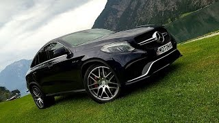 2016 Mercedes Benz AMG GLE 63 S COUPE FIRST DRIVE REVIEW(MotoMan drives the 2016 Mercedes Benz AMG GLE63s Coupe and uses the back country roads of Germany & Austria to demonstrate the surprising driving ..., 2015-06-23T21:48:41.000Z)