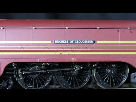 LMS Coronation class 4-6-2 Streamlined Crimson Lake Livery