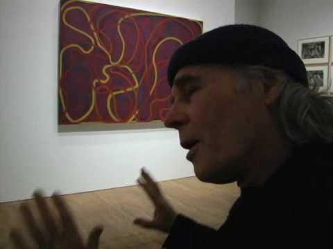 BRICE MARDEN on Cezanne