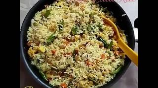 An Easy To Make Tiffin... Egg Fried Rice.