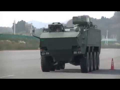 The new 8×8 wheeled armored personnel carrier for Japan Ground Self Defense Force