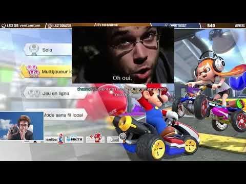 Mario Kart 8 Et Antoine Daniel: Le Bordel Ambiant De Ce Que J'ai Pu Voir...
