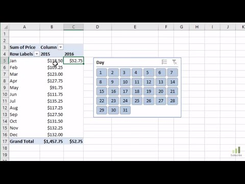 How to Filter Pivot Tables for Month-to-Date MTD Comparisons with Slicers
