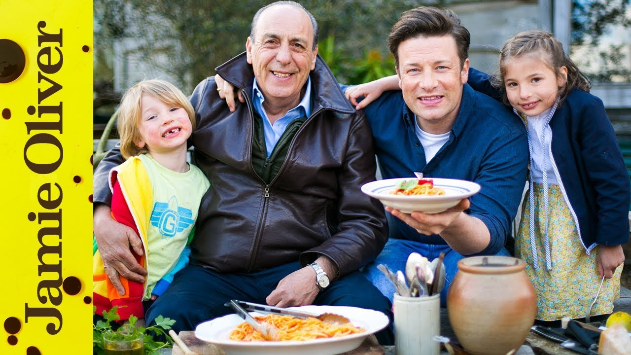 Spaghetti Arrabiata Jamie Oliver Gennaro Contaldo Real Time Ish Recipes Youtube