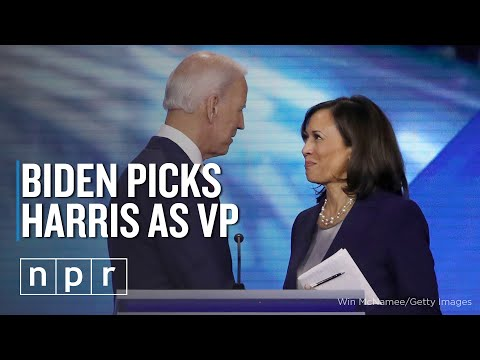 Biden Picks Harris As Running Mate | NPR Politics Presumptive Democratic nominee Joe Biden has picked Sen. Kamala Harris to be his running mate, making her the first woman of color to be nominated as vice ..., From YouTubeVideos