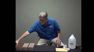 Paver Staining Tips - Application